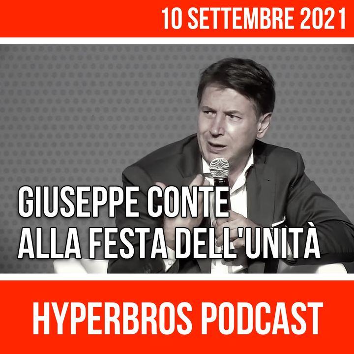 Giuseppe Conte alla Festa nazionale dell'Unità di Bologna