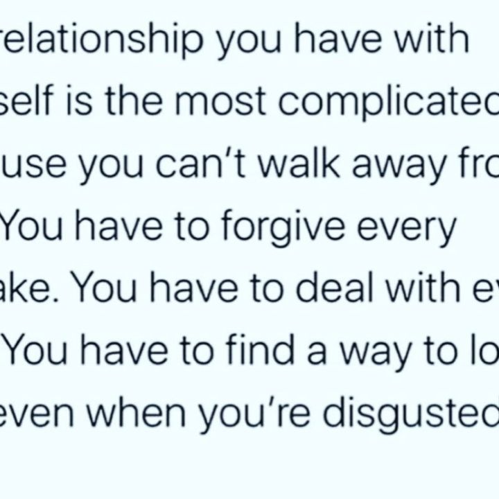 The relationship within yourself- Real World Jay