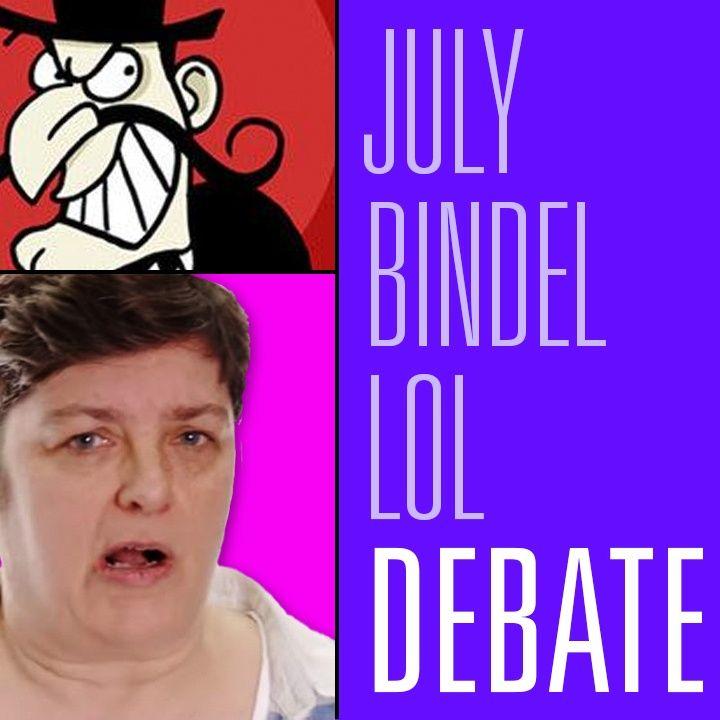 Julie Bindel Tells Us How British Feminism is Doing Feminism the Bestest   HBR Debate 55