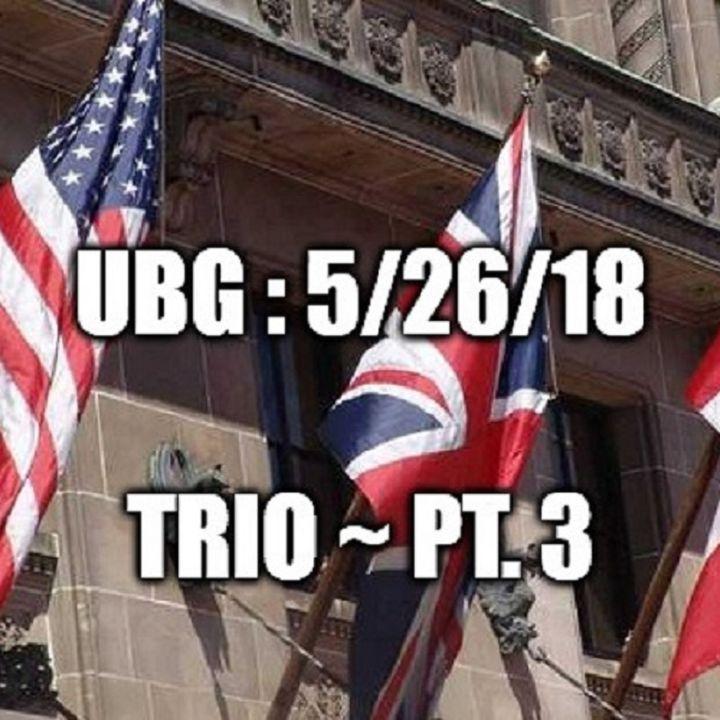 The Unpleasant Blind Guy : 6/9/18 - Trio, Part 3