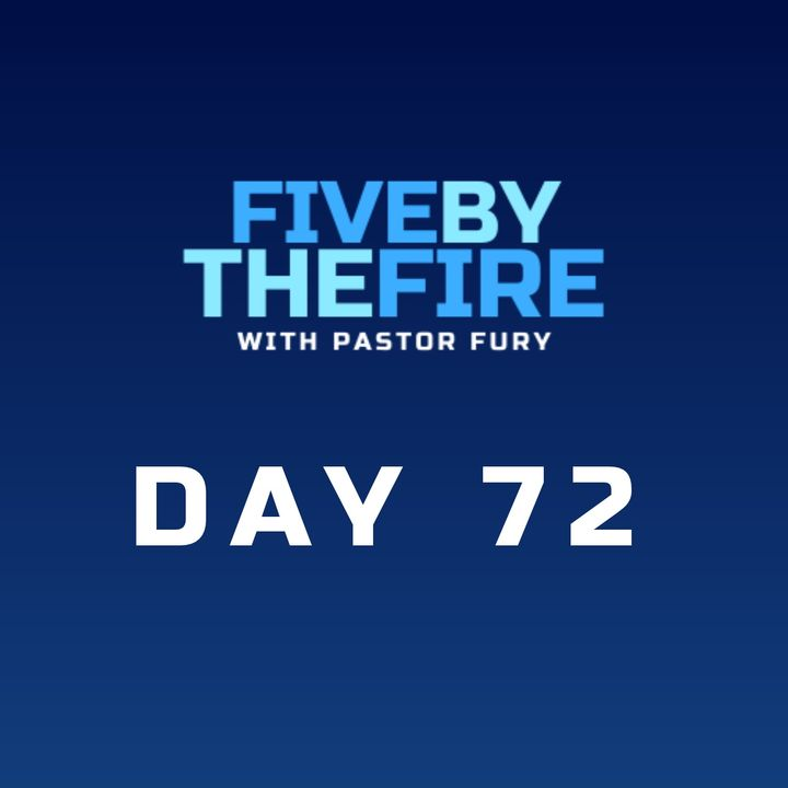 Day 72 - The Only Stance