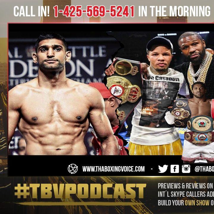 ☎️Joshua vs Usyk: Best Boxer AJ Will Ever Face🤔❓Gervonta Tank Davis vs Amir Khan🤑Please🙏🏽