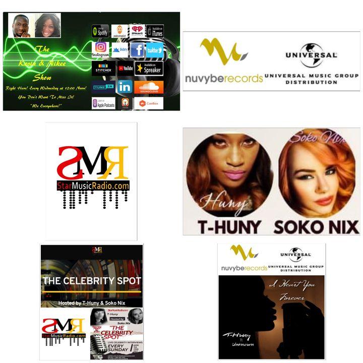 The Kevin & Nikee Show  - LaTasha T-Huny Williamson & Soko Nix - Entertainer, Performer, Writer, Screenwriter and Radio Show Host