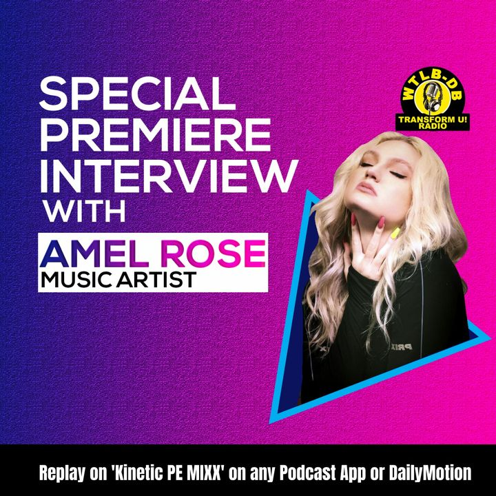 Upbeat Music to Stop Being Scared of Life Right Now with Amel Rose