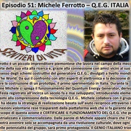 Ep.51 Michele Ferrotto - Q.E.G. Italia