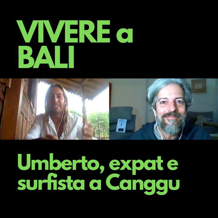 Umberto, expat e surfista a Canggu