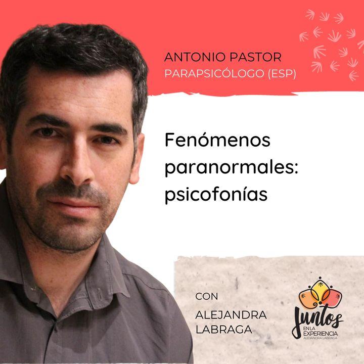 Ep. 039 - Psicofonías: ¿Voces del más allá? Con Antonio Pastor