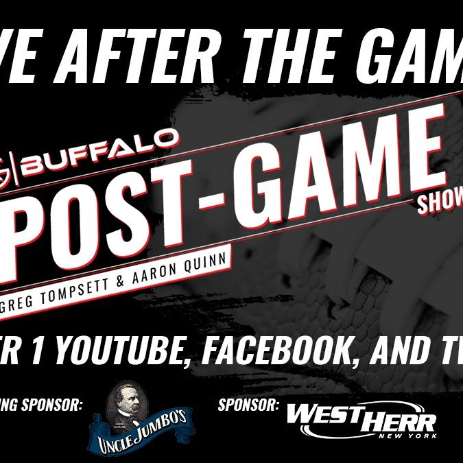 Buffalo Bills New England Patriots Monday Night Football Post Game Show