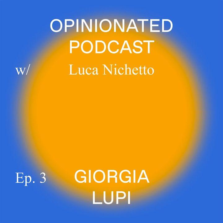 Luca Nichetto with Giorgia Lupi