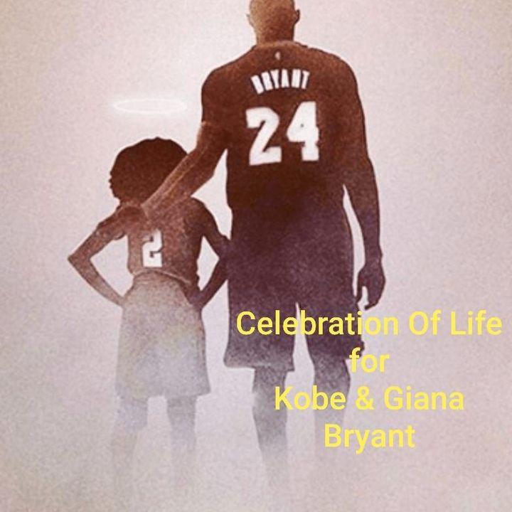 Celebration Of Life for Kobe & Giana Bryant   2/24/2020