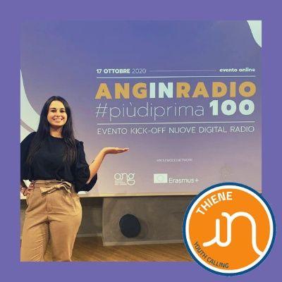 ANG in Radio Youth Calling – Role Model: intervista a Laura Simeoni volontaria europea e Europeers
