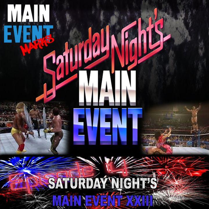 Episode 14: WWF Saturday Night's Main Event XXIII