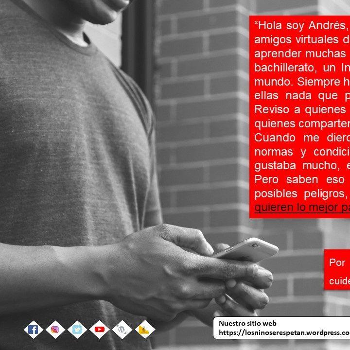 #LosNiñosSeRespetan - Andres