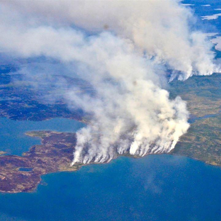 Toman acciones para combatir el incendio en el Amazonas