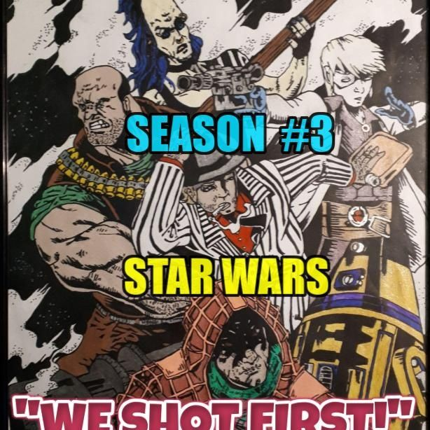"Star Wars Saga Ed. DOD ""We Shot First!"" Season 3 Ep. 33 ""Flight from Cloud City"""