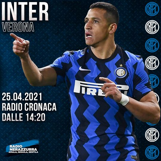 Live Match - Inter - Verona 1-0 - 25/04/2021