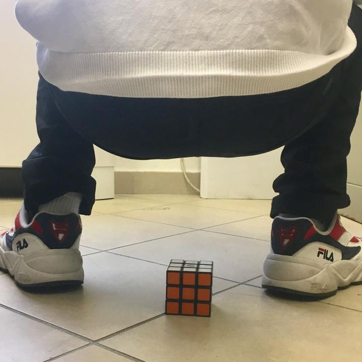 #forlì Culo di Rubik
