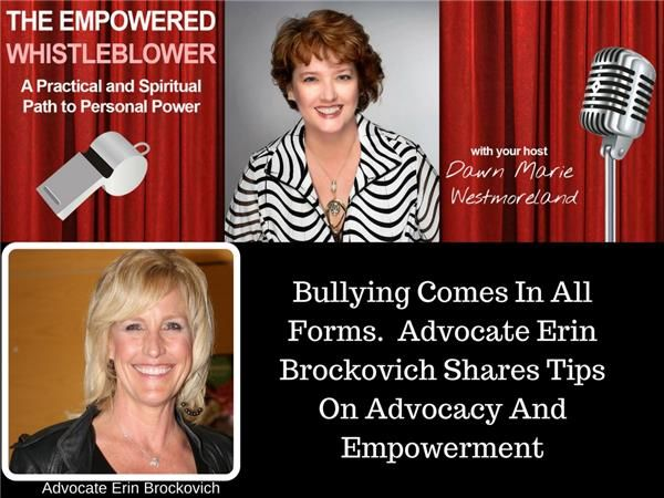 Advocate Erin Brockovich Shares Her Advice on How To Make Positive Change
