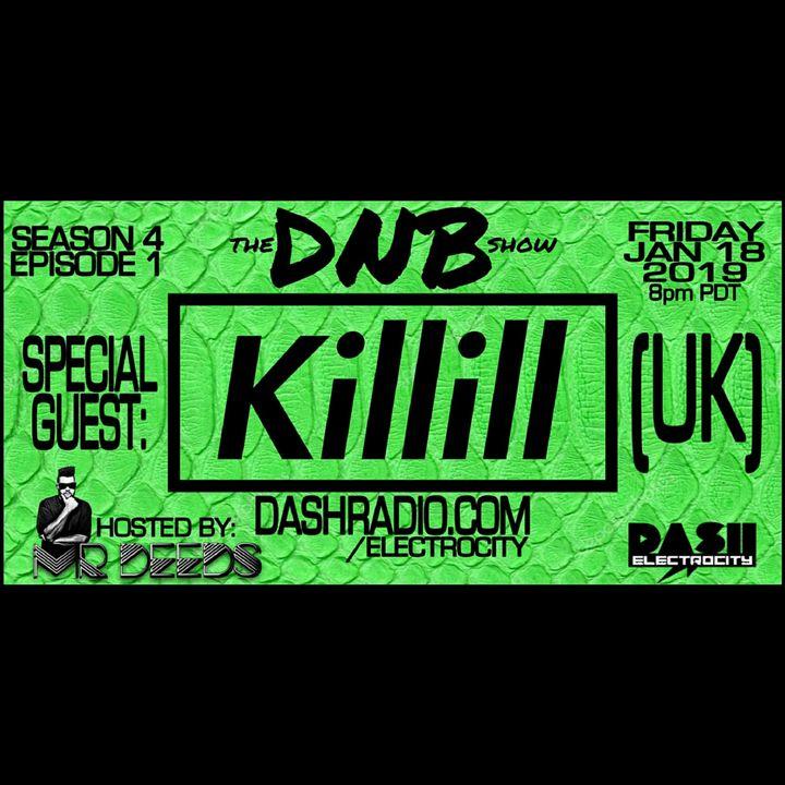the DNB show S04E01 (guest mix Killill)