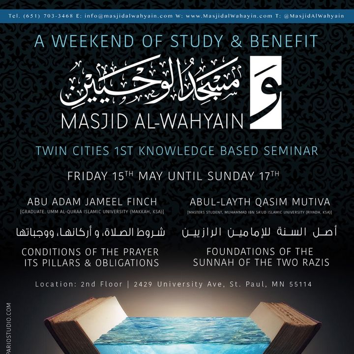 [Seminar]: Weekend of Study & Benefit