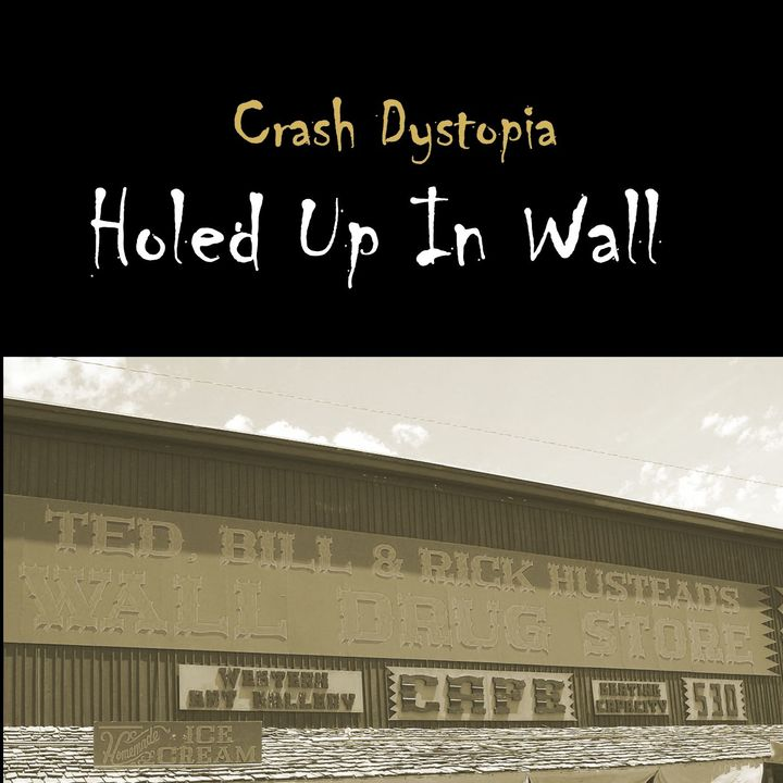 Crash Dystopia Holed Up In Wall