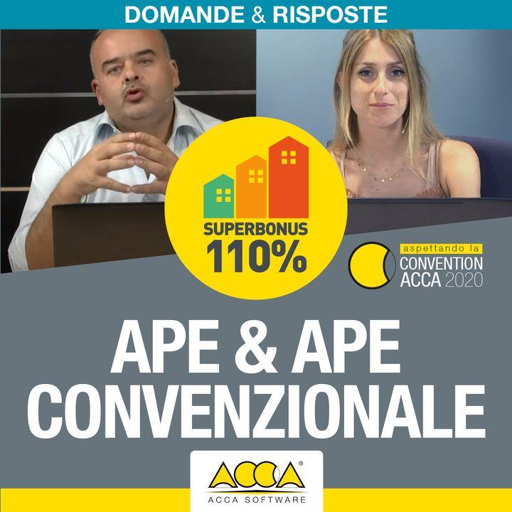 Superbonus 110 [S.2 EP.1] APE, AQE e APE convenzionale caratteristiche, requisiti e differenze