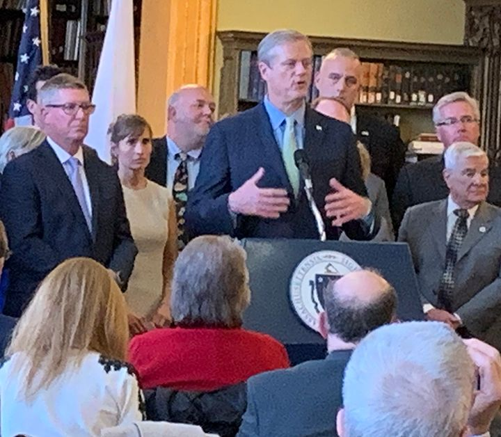 Gov. Baker Signs Distracted Driving Bill Into Law