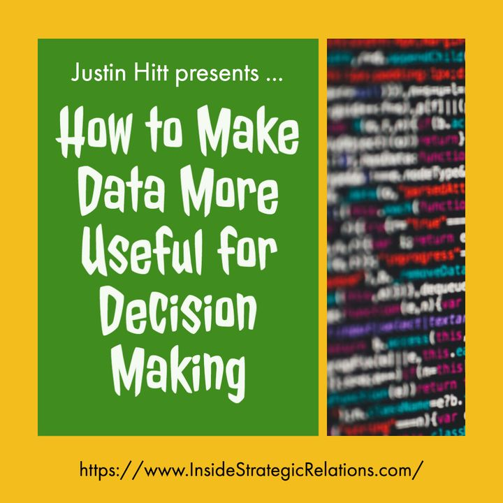 071 [ISR] Making Data More Useful for Decision Making | I0720A