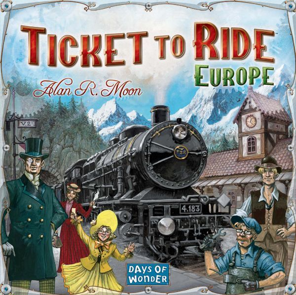 Out of the Dust Ep23 - Ticket to Ride Europe