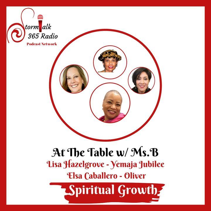 At The Table w/ Ms.B - w/ Co Host Lisa Hazelgrove