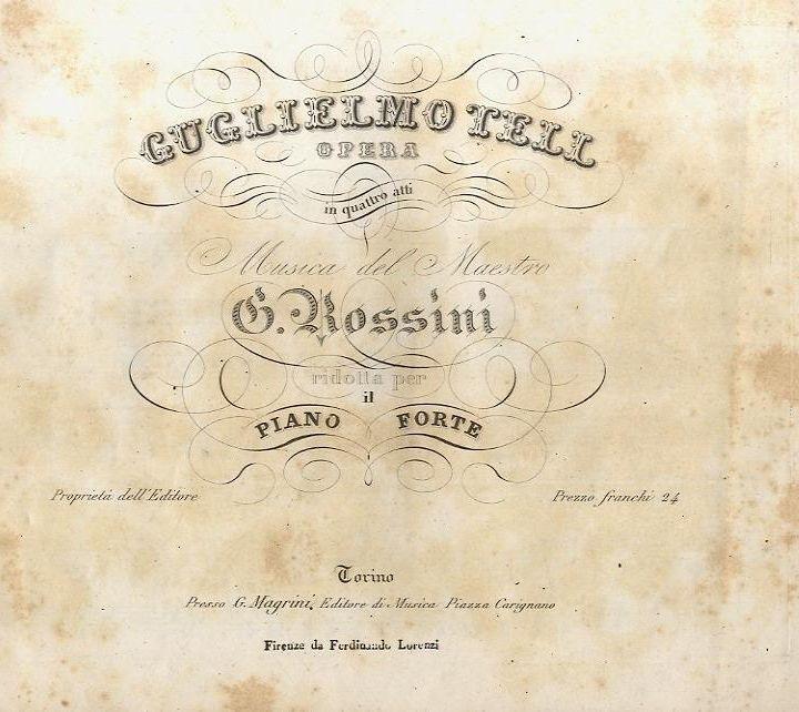 La Domenica di Ameria Radio  11 aprile 2021 ore 18.00 - G. Rossini Guglielmo Tell pagine scelte - Milnes,, Pavarotti, Freni.