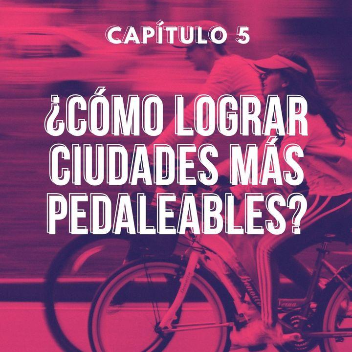 Capítulo 5. ¿Cómo lograr ciudades más pedaleables?