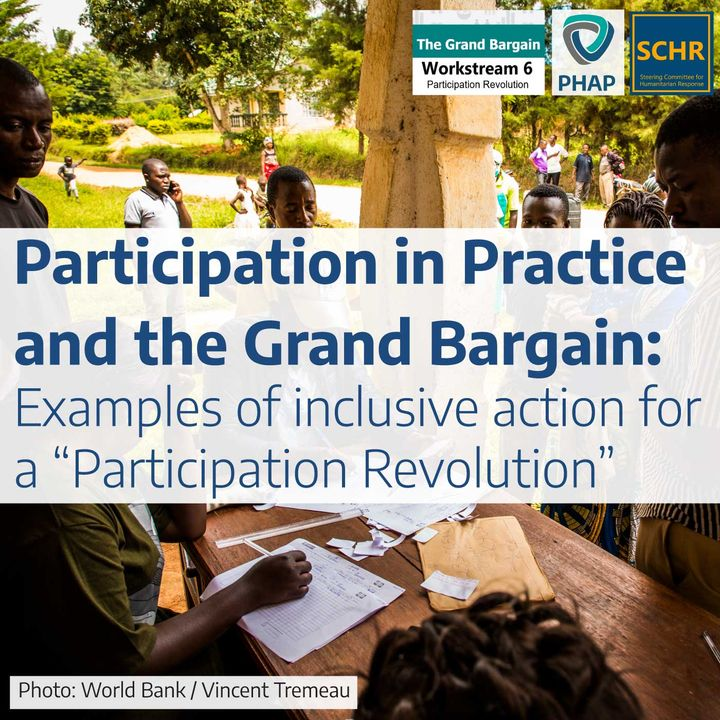 """Participation in Practice: Examples of inclusive action for a """"Participation Revolution"""""""