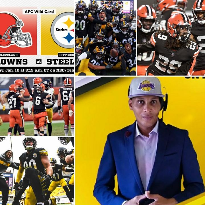Episode 4 #AFC DIVISIONAL WILCARD GAME  #Browns Vs #Steelers  ●Live Play By Play Coverage W/ #RealSportsTimewDMarl