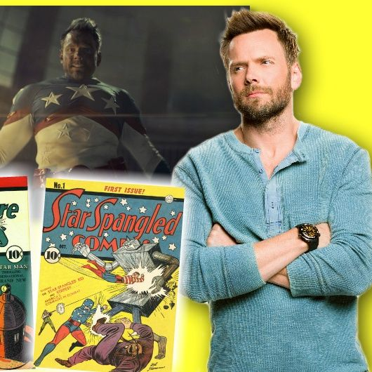 #335: Joel McHale - from stand-up to superhero as Starman on Stargirl!
