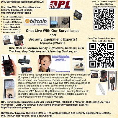 Ask #SpyGadgetRentals (888)344-3742 Open 24/7/365 Bug Detection 101