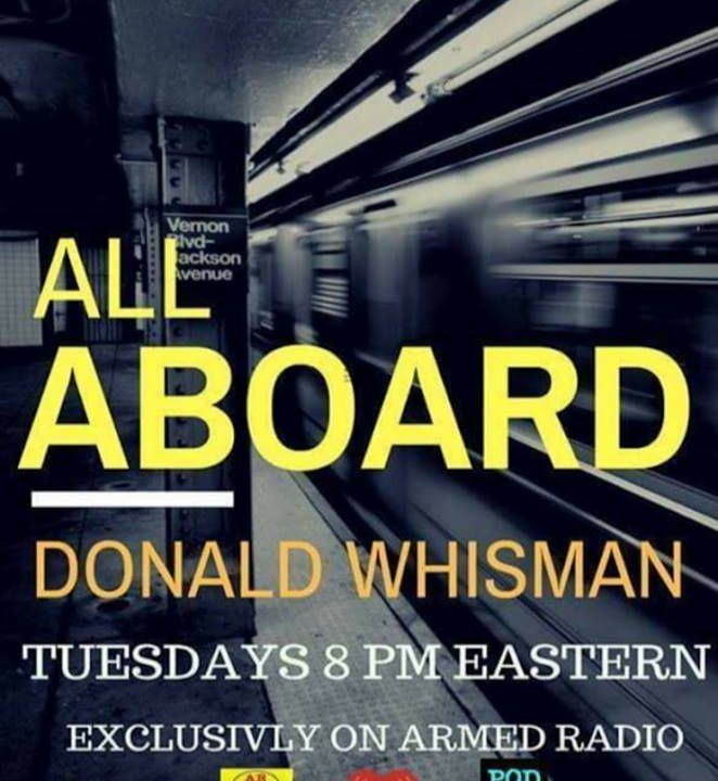 ALL ABOARD WITH DON WHISMAN