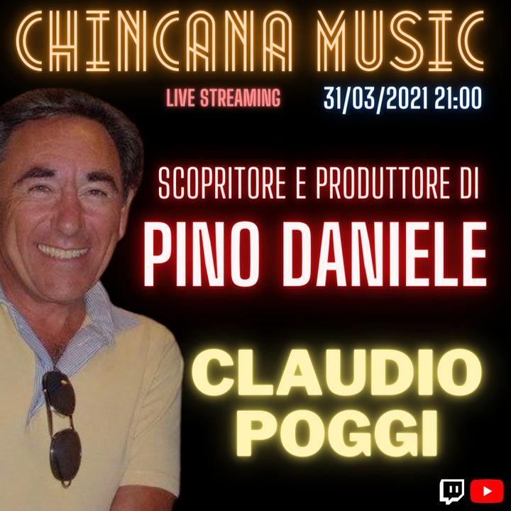 #10 Claudio Poggi nel salotto virtuale dio Chincana Music