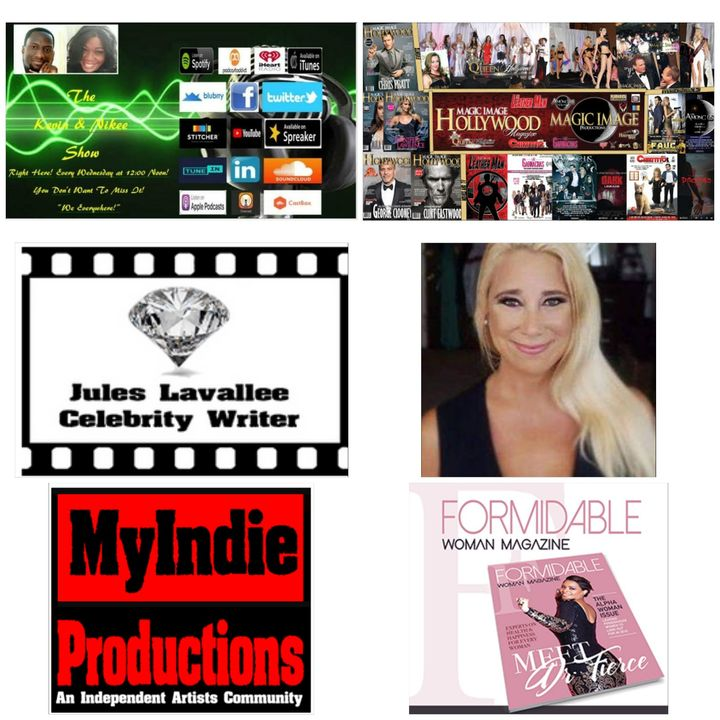 The Kevin & Nikee Show  - Jules Lavallee - Celebrity Journalist, Writer, Publicist, Poet and Screenwriter