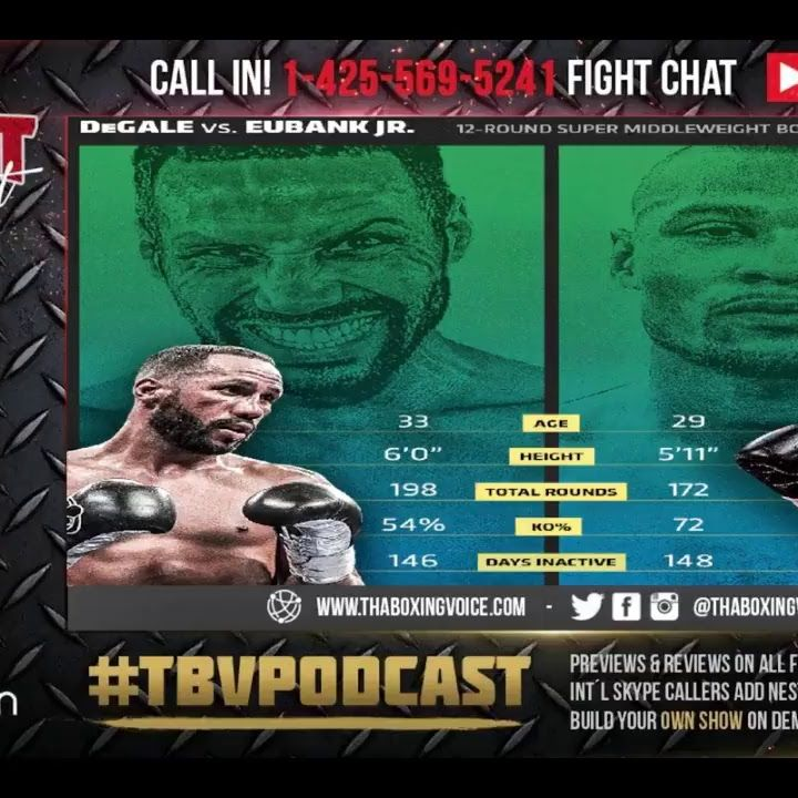 ☎️James Degale vs Chris Eubank Jr.🇬🇧 Live Fight Chat 💭 British Beef☠️😈