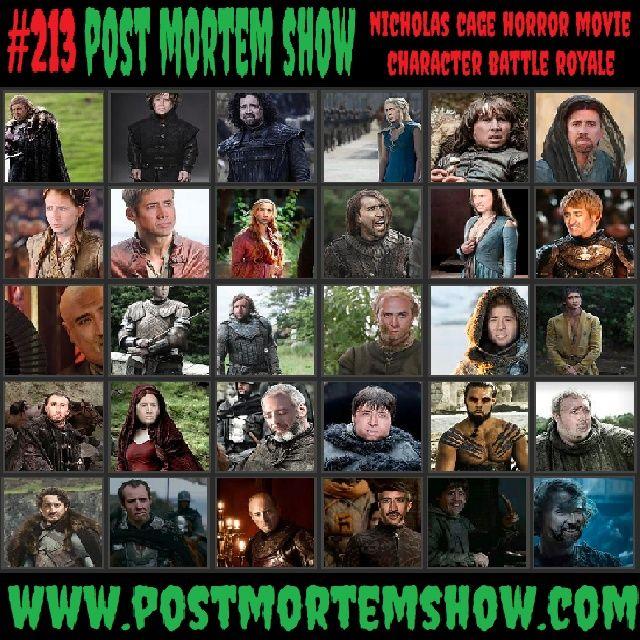 e213 - Ghost Boner (Nicholas Cage Horror Movie Battle Royale)