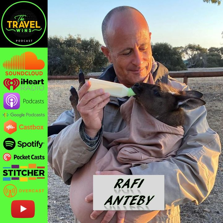 Rafi Anteby | being a conscious traveler while helping the world be a better place