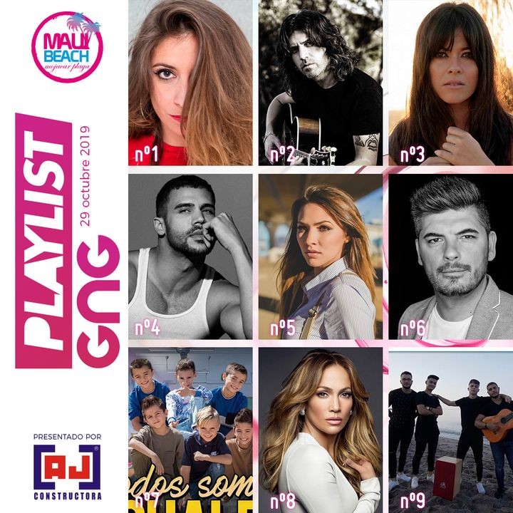NUEVA PLAYLIST ESTACION GNG ---- LISTA EXITOS MUSICALES 29 Octubre