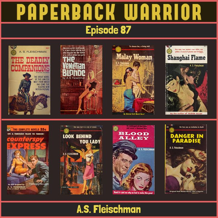 Episode 87: A.S. Fleischman
