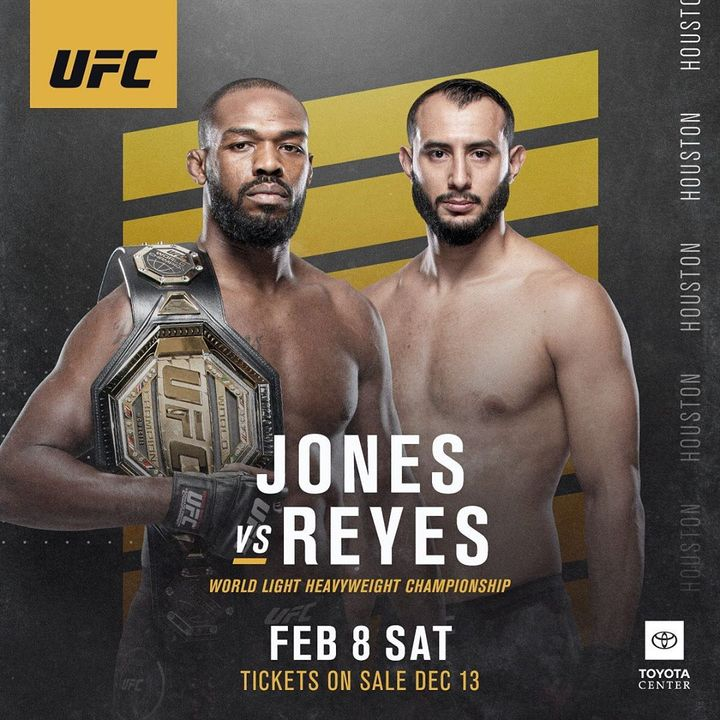Roundtable: UFC 247 'Jones v. Reyes'