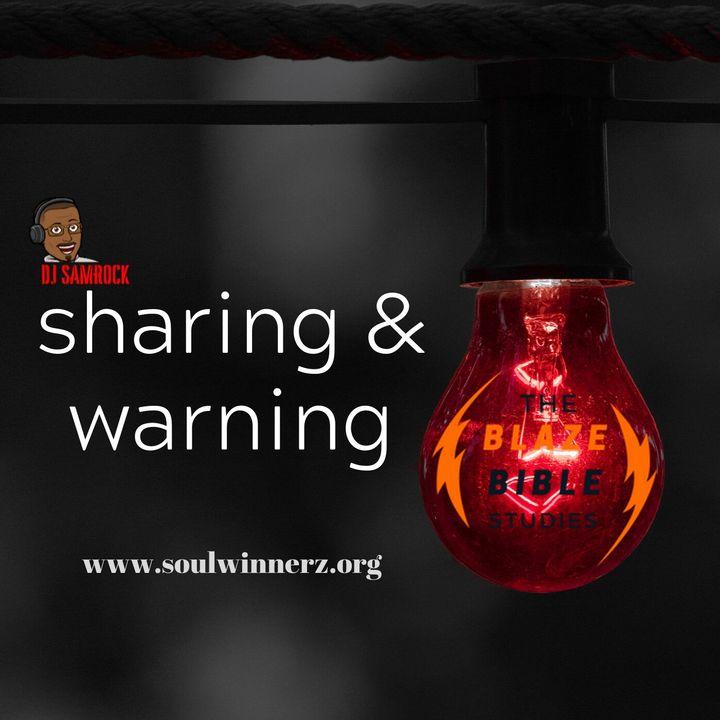 Sharing & Warning -DJ SAMROCK