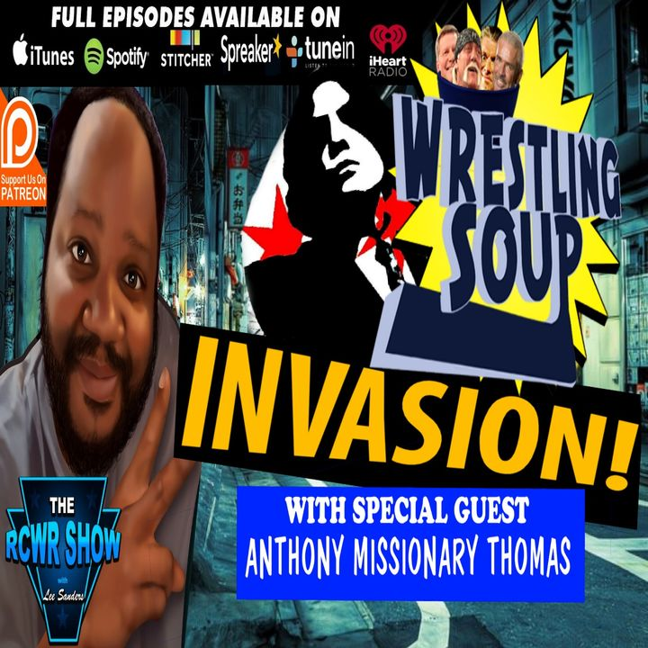 Missionary Thomas of Wrestling Soup Invades The RCWR Show 1-22-19