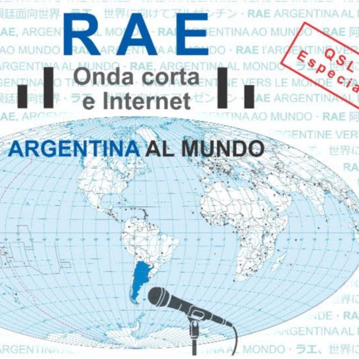 05 RAE shortwave broadcasting with special QSL