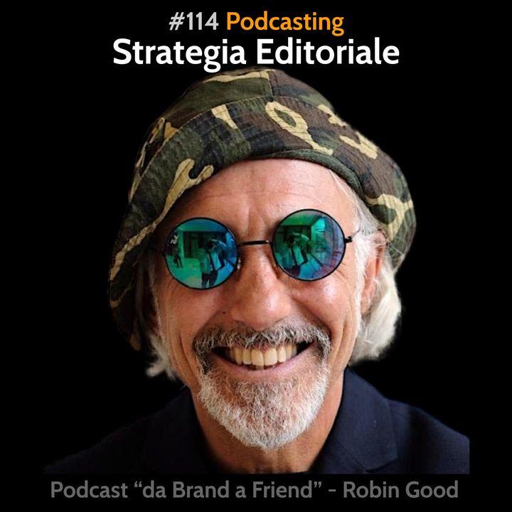 Podcasting: Strategia editoriale