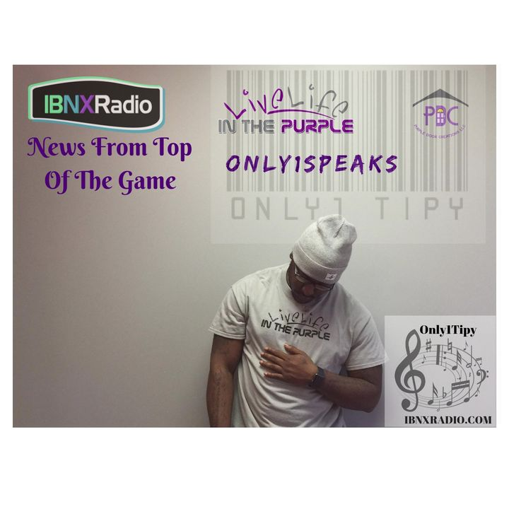 Only1Speaks Segment 9-25-18 with Only1Tipy Recording Artist